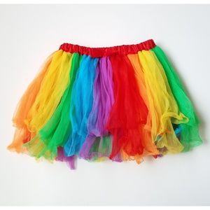 Dresses & Skirts - Rainbow Festival Costume Skirt